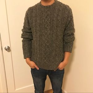 Abercrombie and Fitch Cable Knit Sweater
